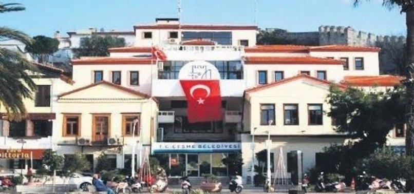 CHP'li Çeşme Belediyesi'nde büyük hırsızlık!