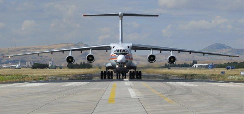 S-400 TESLİMATINDA 7. UÇAK DA MÜRTED ÜSSÜ'NDE