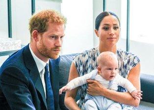 Prens Harry ve Meghan Markle'dan yeni hayata ilk adım! Oğulları Archie'den ilham aldılar