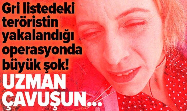 PKK'LI KADIN TERÖRİST, UZMAN ÇAVUŞUN ARACINDA YAKALANDI!