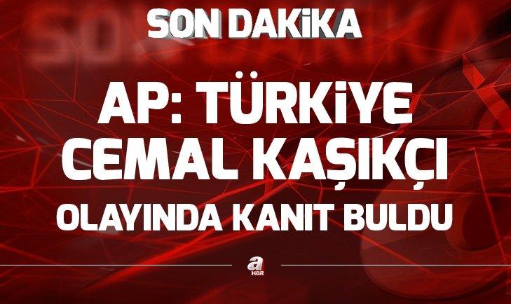 AP: Türkiye Kaşıkçı olayında kanıt buldu