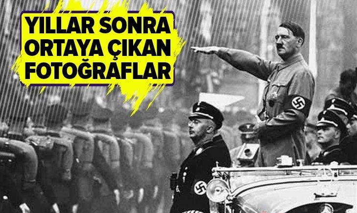 ADOLF HİTLER'İN FOTOĞRAFLARI YILLAR SONRA GÜN YÜZÜNE ÇIKTI!