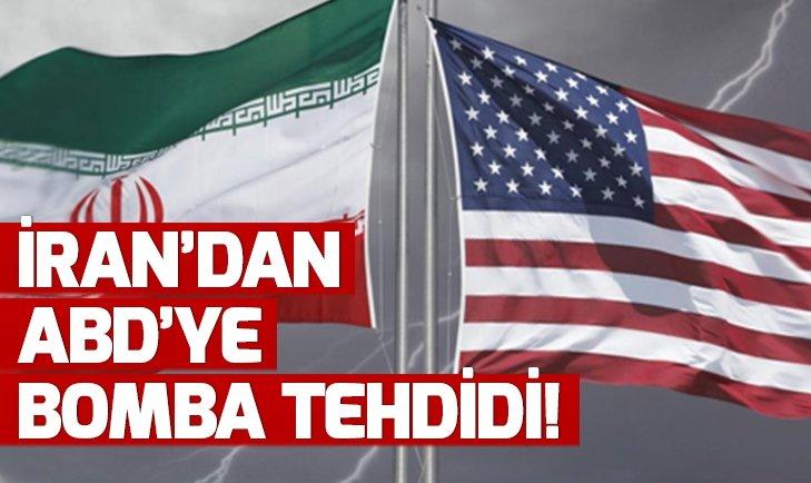 İRAN'DAN ABD'YE ATOM BOMBASI TEHDİDİ