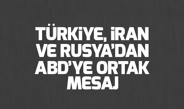 Son dakika: Türkiye, Rusya ve İran'dan ABD'ye Golan Tepeleri tepkisi