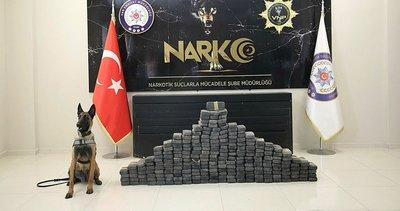 Van'da 205 kilo 240 gram eroin ele geçirildi! Emniyet'ten dikkat çeken yazı