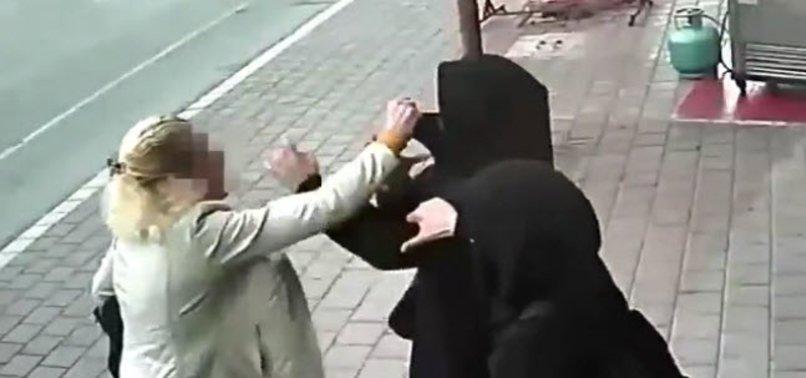 ADANA SEYHAN'DA BAŞÖRTÜLÜ KADINLARA ALÇAK SALDIRI