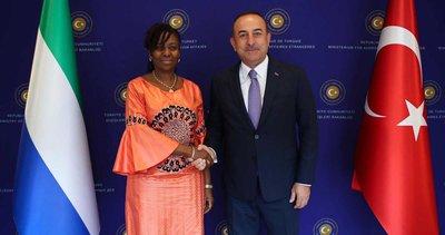 Son dakika: Sierra Leone Cumhuriyeti Dışişleri Bakanı Tunis Türkiye'ye geliyor