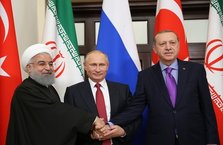 Soçi'deki Suriye zirvesinden önemli anlar