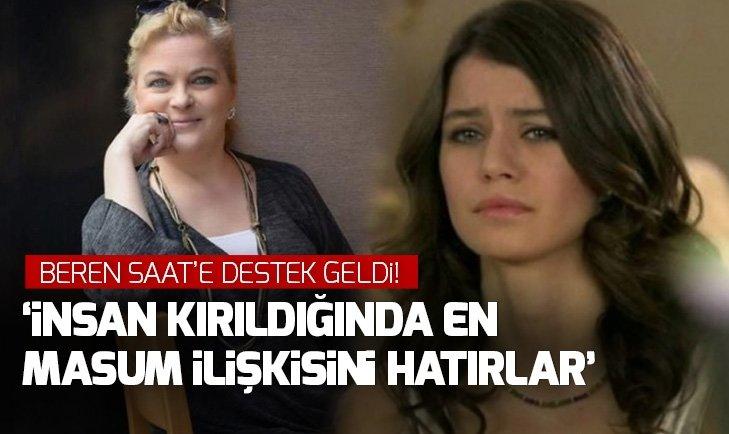 NURSELİ İDİZ'DEN BEREN SAAT'E DESTEK GELDİ