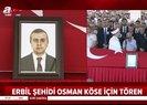 Son dakika: Erbil şehidi diplomat Osman Köse son yolculuğuna uğurlandı |Video