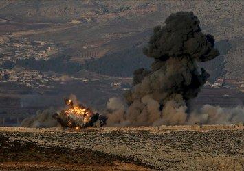 Son dakika: Afrin'de bombalı terör saldırısı: Ölü ve yaralılar var