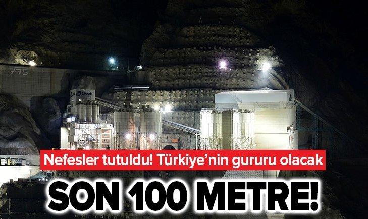 NEFESLER TUTULDU! YUSUFELİ BARAJI'NDA SON 100 METRE