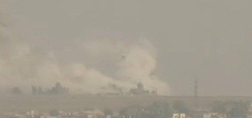 TÜRK SAVAŞ UÇAKLARI YPG'YE BOMBA YAĞDIRIYOR