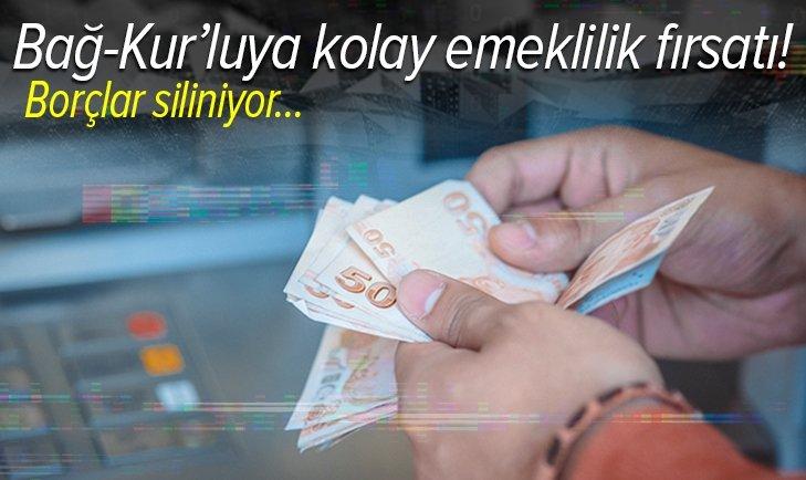 Bağ-Kur'luya kolay emeklilik fırsatı! Primler yapılandırılıyor, borçlar siliniyor