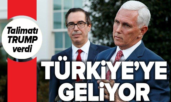 ABD BAŞKAN YARDIMCISI PENCE TÜRKİYE'YE GELİYOR