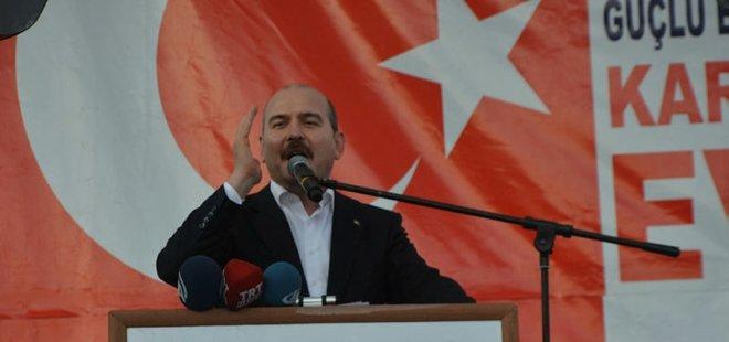 """İÇİŞLERİ BAKANI SOYLU'DAN KILIÇDAROĞLU'NA """"BAYRAK"""" TEPKİSİ"""
