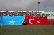 Somali'de Recep Tayyip Erdoğan tezahüratı