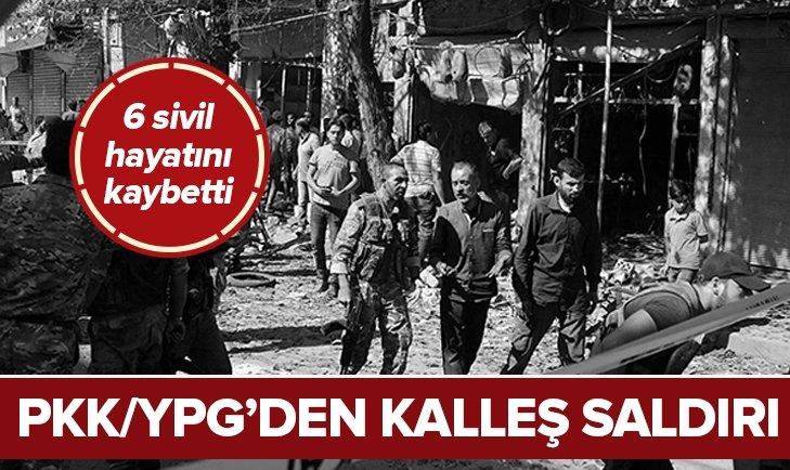 PKK/YPG'Lİ TERÖRİSTLER YİNE SİVİLLERE SALDIRDI