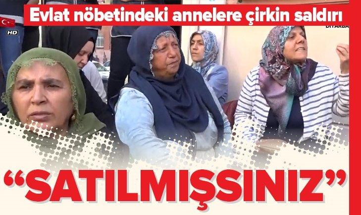 Diyarbakır'da evlatlarını bekleyen acılı ailelere çirkin saldırı