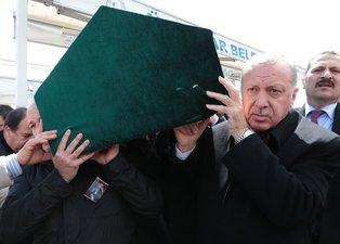 Başkan Erdoğan, Atalay Şahinoğlu'nun cenaze namazına katıldı