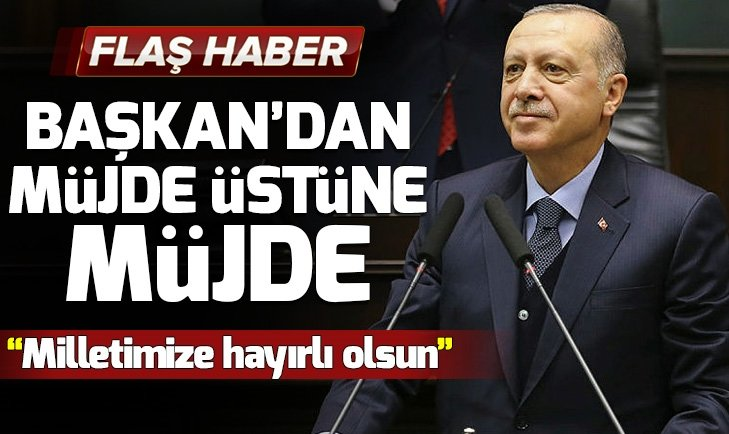 Başkan Erdoğan canlı yayında müjdeleri peş peşe sıraladı