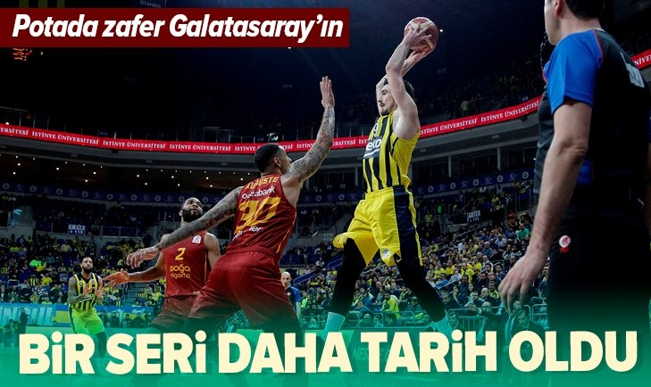 DEV DERBİ GALATASARAY'IN!