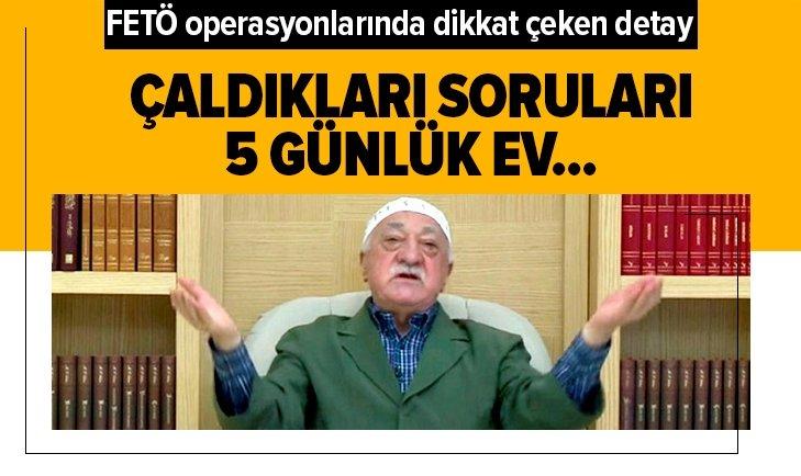 FETÖ OPERASYONLARININ DETAYLARI BELLİ OLUYOR!