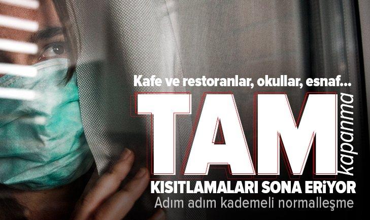 Türkiye'nin kademeli normalleşme takvimi! Kafe ve restoranlar açılacak mı? Yüz yüze eğitim başlayacak mı? Seyahat yasağı kalkacak mı?