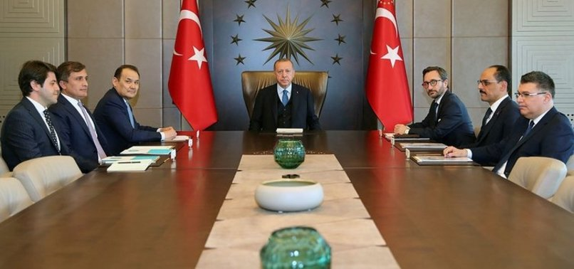 BAŞKAN ERDOĞAN, BAGHDAD AMREYEV'İ KABUL ETTİ!