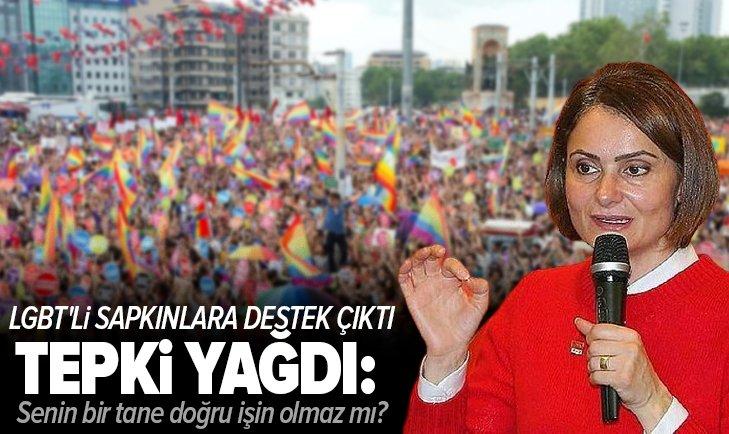LGBT'li sapkınlara destek çıkan CHP'li Kaftancıoğlu'na tepki yağdı: Senin bir tane doğru işin olmaz mı?