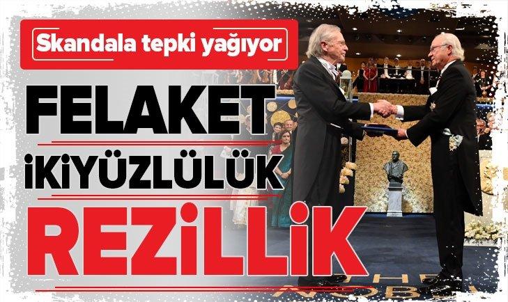 PETER HANDKE'YE NOBEL VERİLMESİNE SERT TEPKİ