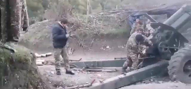 Azerbaycan karşısında aciz duruma düşen Ermenistan cepheye çocukları sürdü!