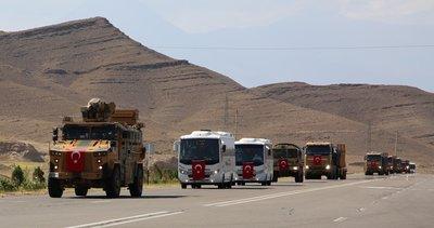 Türkiye ve Azerbaycan'dan Nahçıvan'da Sarsılmaz Kardeşlik 2021 isimli askeri tatbikat