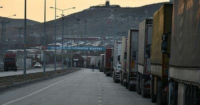 Son dakika: İran'a açılan Gürbulak kapatıldı! TIR kuyruğu 5 kilometreye ulaştı