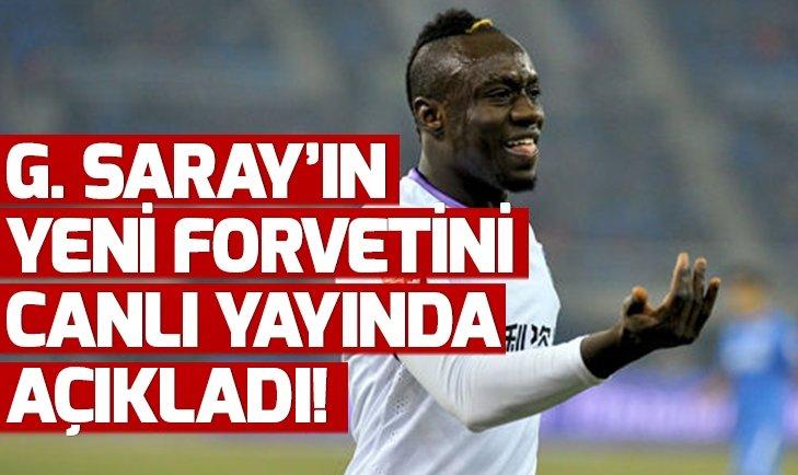GALATASARAY'IN YENİ FORVETİNİ AÇIKLADI!