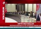 Milli Güvenlik Kurulu toplantısı başladı   Video
