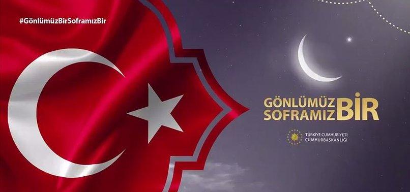 AZERBAYCAN'DAN 'GÖNLÜMÜZ BİR SOFRAMIZ BİR' MESAJI