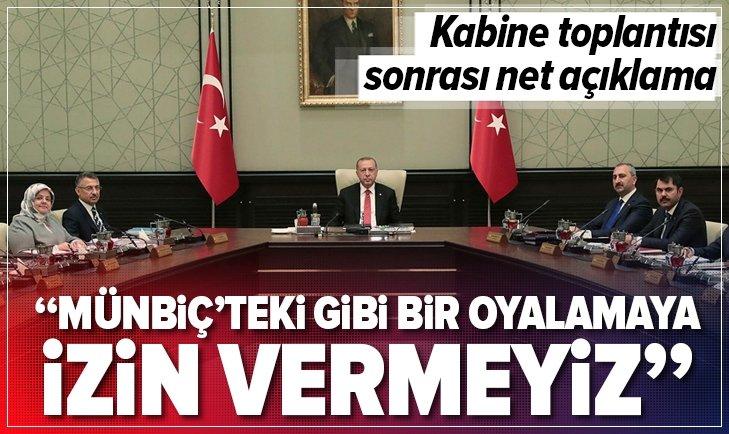 Cumhurbaşkanlığından flaş Münbiç açıklaması!