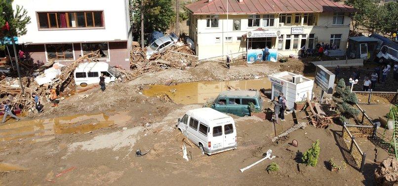 Son dakika: Giresun'da sel felaketi! Bölgeye giden 3 bakan incelemelerde bulundu