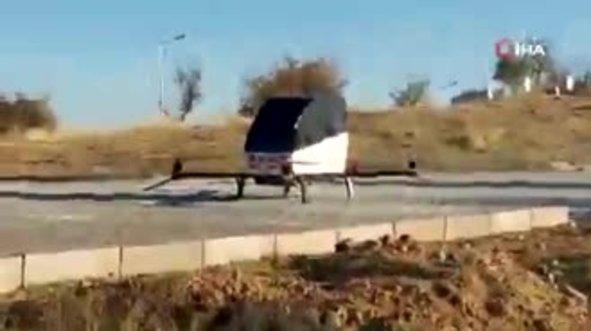 Siirtli mucit Burhan Canpolat uçan araba yaptı!