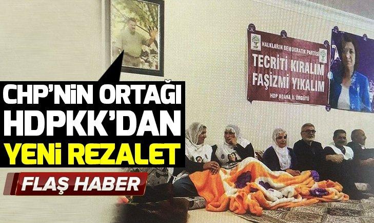 HDP'li vekiller Öcalan fotoğrafı altında birleşti