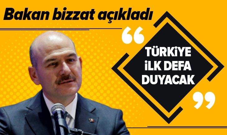 TÜRKİYE İLK DEFA DUYACAK DEDİ VE AÇIKLADI!
