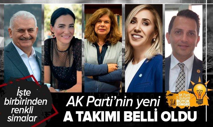 İşte AK Parti'nin yeni kadrosu! Liste belli oldu