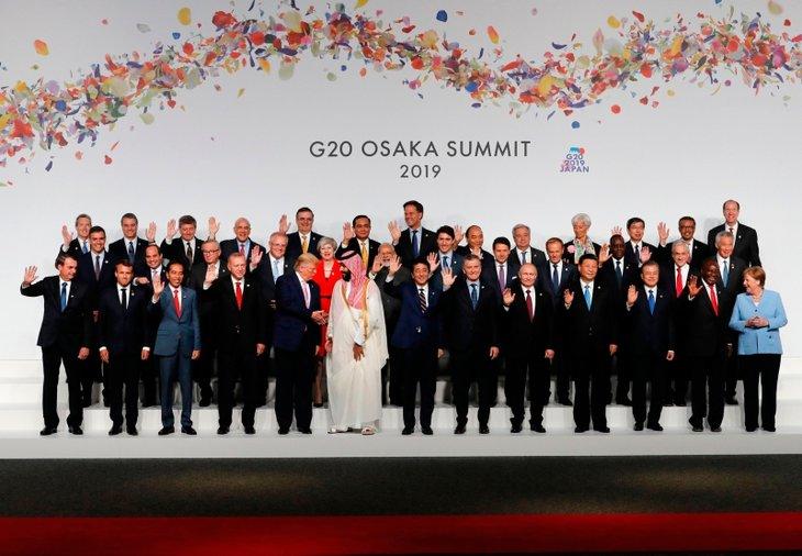 G20 Osaka Liderler Zirvesi başladı! İşte tarihe geçen kareler
