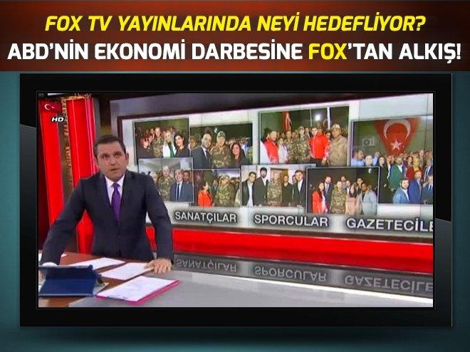 FOX TV'DEN 10 AĞUSTOS ABD EKONOMİ DARBESİNE ALKIŞ!