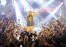 Rapçi Ben Fero'dan sahnede asker selamı