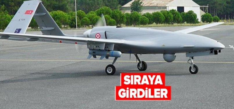 Türk İHA'ları dünya pazarında bir alıcı daha buldu! Bir ülke daha tarih yazan Türk İHA'larından aldı