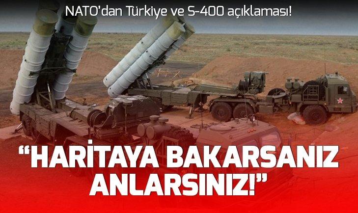NATO'DAN TÜRKİYE VE S-400 AÇIKLAMASI