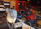 Antalya'da iki otomobil çarpıştı: 3 ölü, 4 yaralı