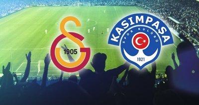 Galatasaray, Kasımpaşa'yı 1-0 yendi